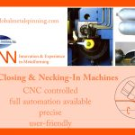 tube closing and necking-in machines by denn